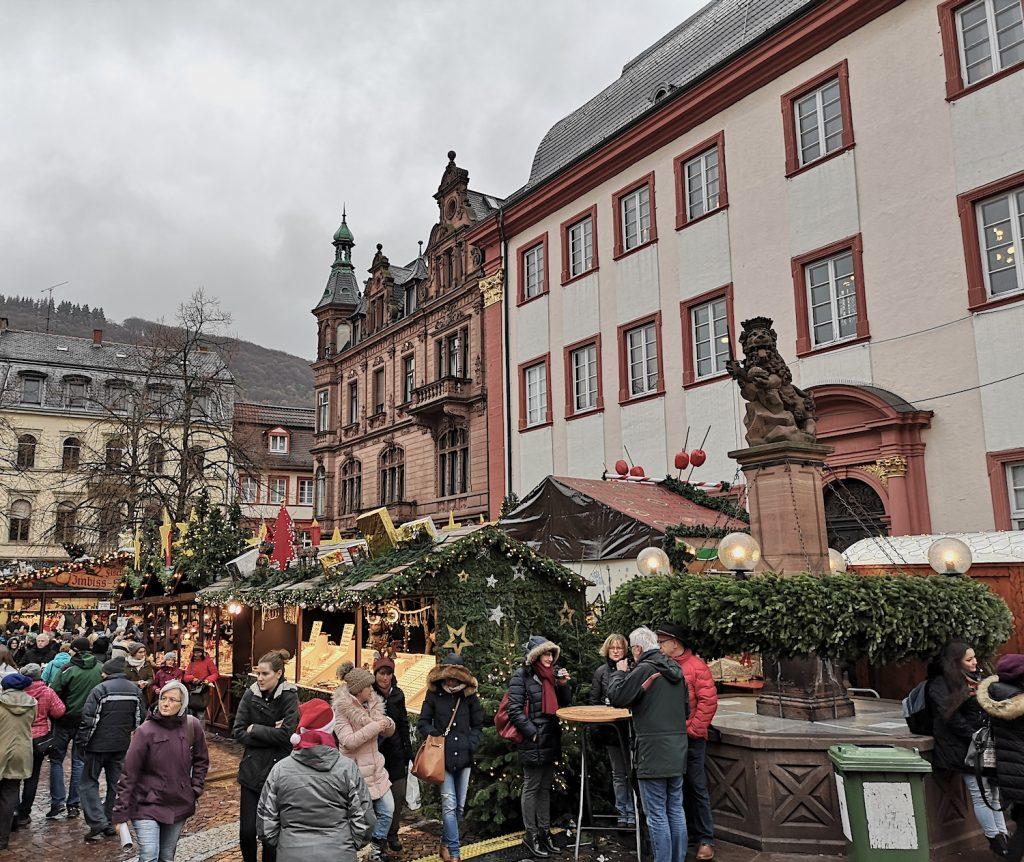 Weihnachtsmarkt in Heidelberg, 2018. Bild: Theo Müller